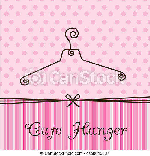 cute hanger - csp8645837