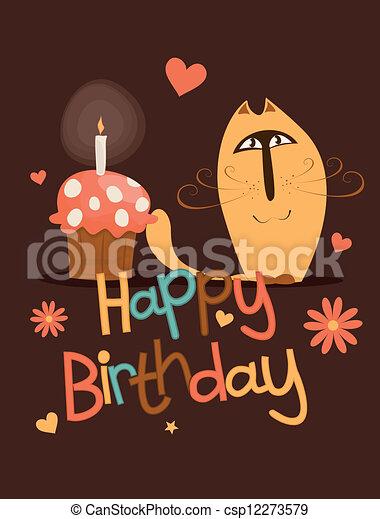 Cute Happy Birthday Card