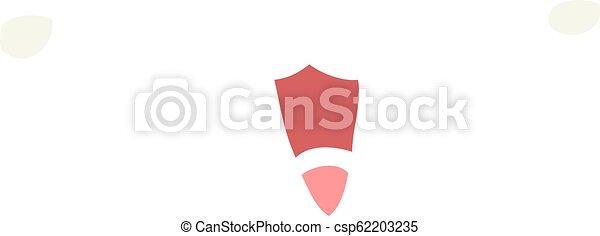 cute happy face flat color style cartoon - csp62203235