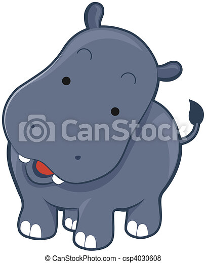 Hippo Stock Illustrations 8 398 Hippo Clip Art Images And Royalty