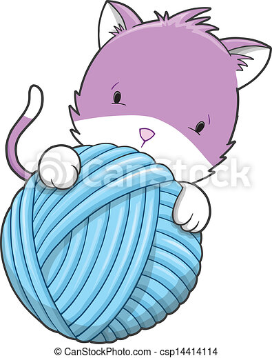 cute kitten cat pet vector illustration art vector clip art search rh canstockphoto com