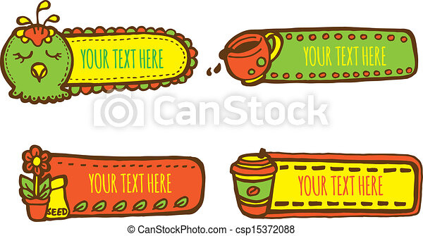 cute labels doodle vector search clip art illustration drawings rh canstockphoto ie vector labels free download vector labels r