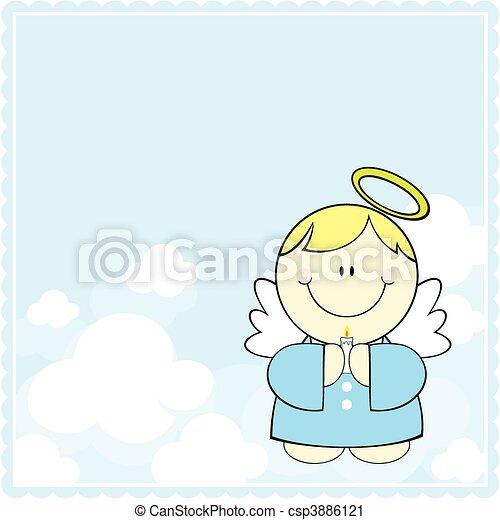 cute little angel - csp3886121