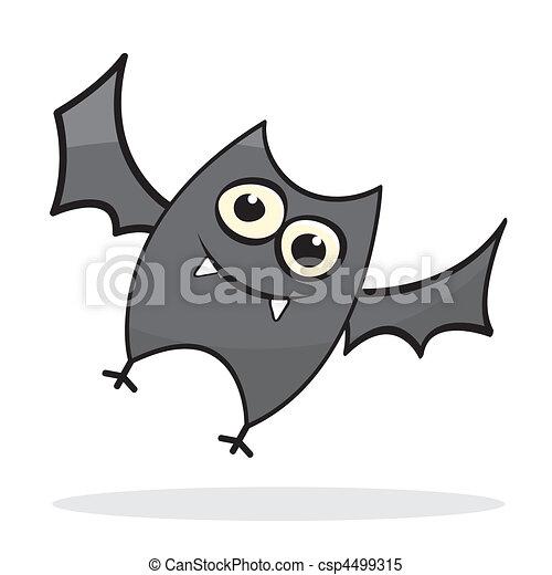 cute little cartoon bat csp4499315 - Bat Cartoon