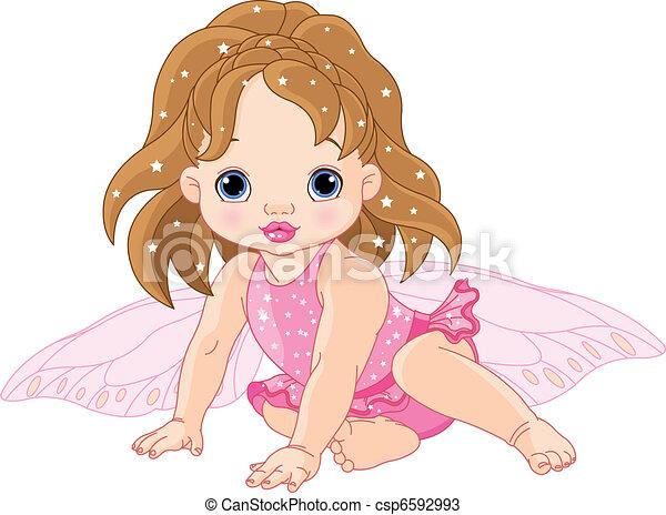 Cute little Fairy - csp6592993