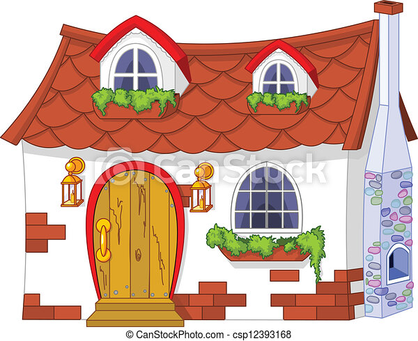 Cute Little House - csp12393168