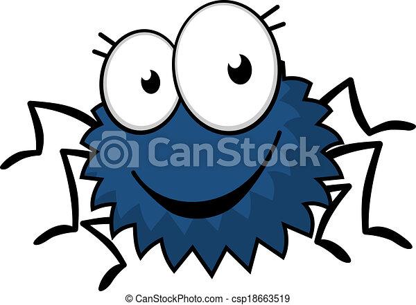 cute little spiky cartoon spider cute little spiky cartoon rh canstockphoto com free cartoon spider clipart free cartoon spider clipart