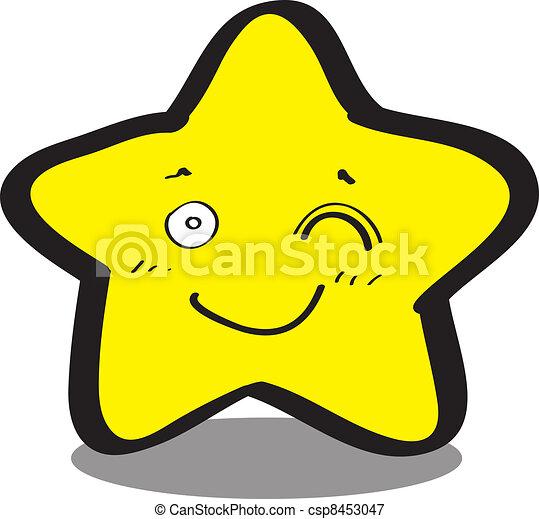 cute looking starfish - csp8453047