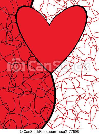 cute love hearts - csp2177698