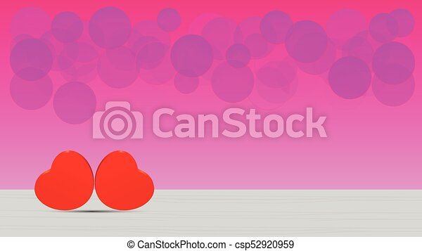 Cute Love Hearts Wallpaper