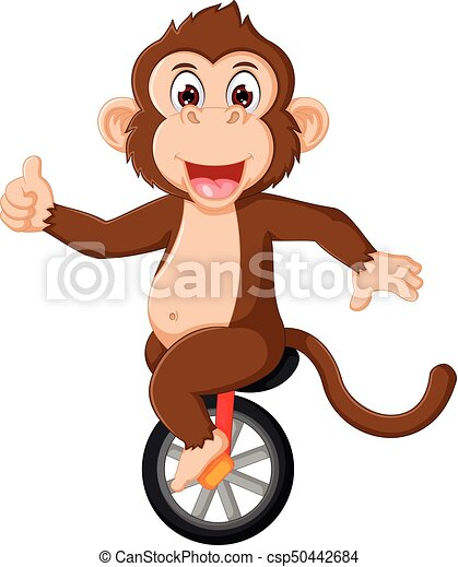 Circus monkey Vector Clipart Royalty Free. 1,067 Circus ...