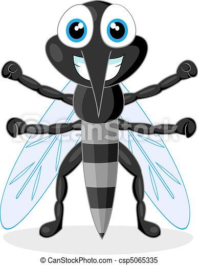 cute mosquito  - csp5065335