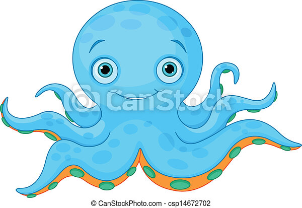octopus illustrations and clipart 11 393 octopus royalty free rh canstockphoto com octopus clipart black and white octopus clipart outline