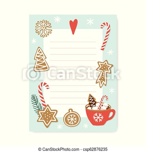 Christmas List Organizer.Cute Organizer With Place For Notes Trendy Christmas To Do List