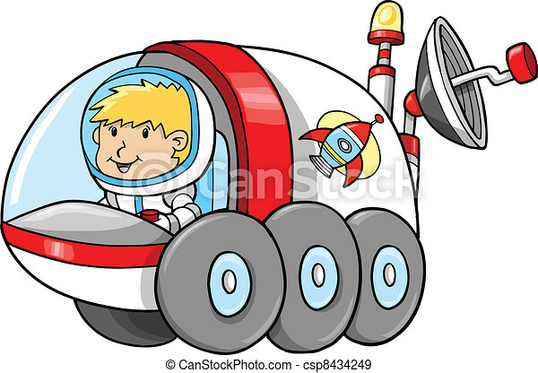 cute outer space moon buggy vector illustration eps vectors search rh canstockphoto com outer space clipart for kids outer space clipart for kids