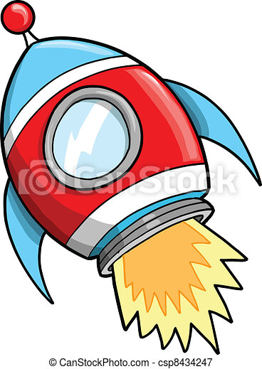 cute outer space rocket vector illustration vectors illustration rh canstockphoto com outer space clipart free outer space clipart free
