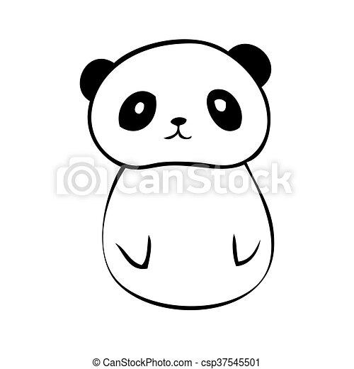 Cute Panda ícone