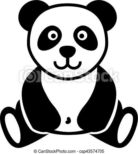 Cute Panda bear - csp43574705
