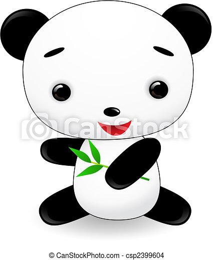 Cute Panda Cartoon Carton