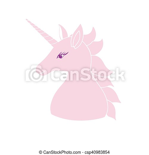 Cute pink unicorn with inscription vector illustration for cute pink unicorn with inscription vector illustration for greeting cards kids clothing baby posters m4hsunfo