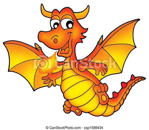 dragon stock illustrations 34 102 dragon clip art images and rh canstockphoto com dragon clipart for kids dragon clip art borders