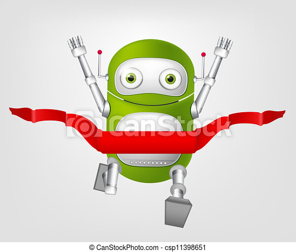Cute Robot - csp11398651