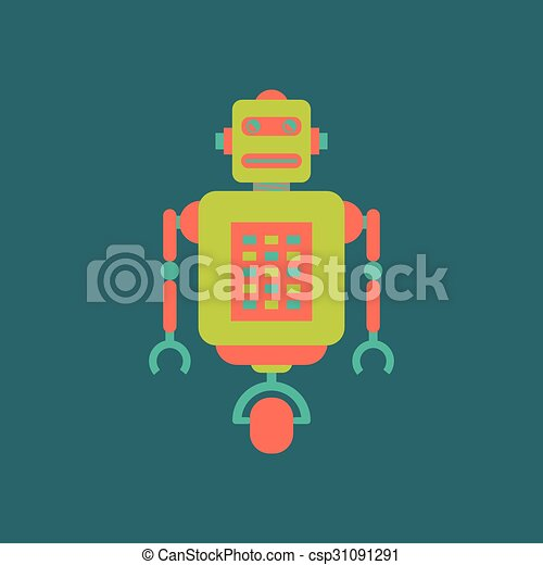 Cute robot - csp31091291