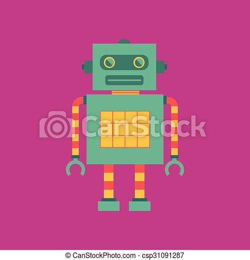 Cute robot - csp31091287