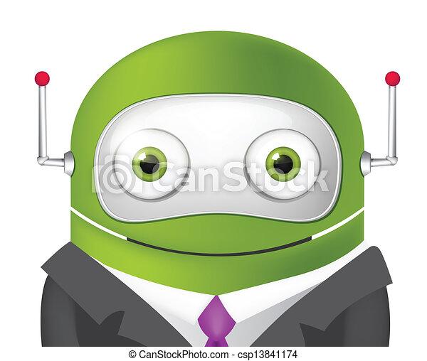 Cute Robot - csp13841174