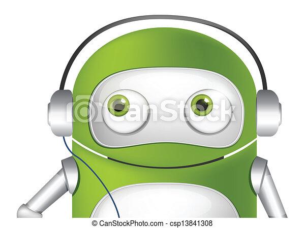 Cute Robot - csp13841308
