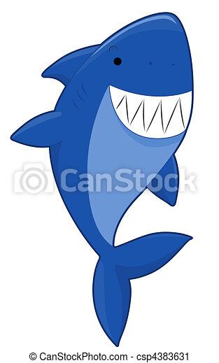 cute shark clipart search illustration drawings and vector eps rh canstockphoto ca Cute Cartoon Sharks Cute Baby Shark Clip Art