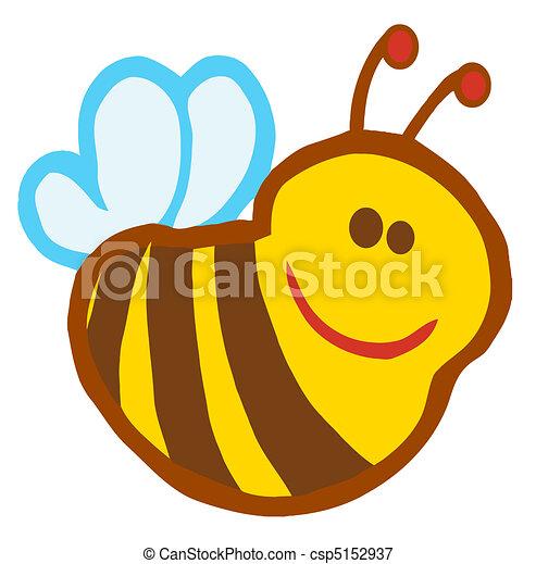 cute, smil, bi - csp5152937