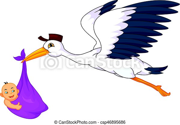 vector illustration of cute stork carrying baby vector search clip rh canstockphoto com stock vector art stock vector images