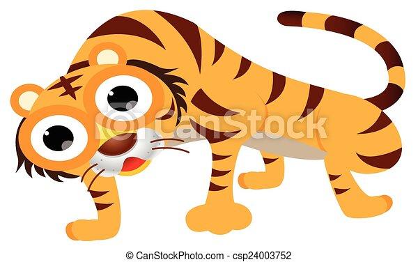cute tiger - csp24003752