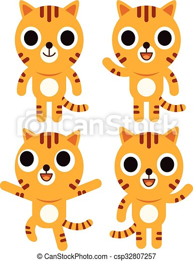 Cute Tiger - csp32807257