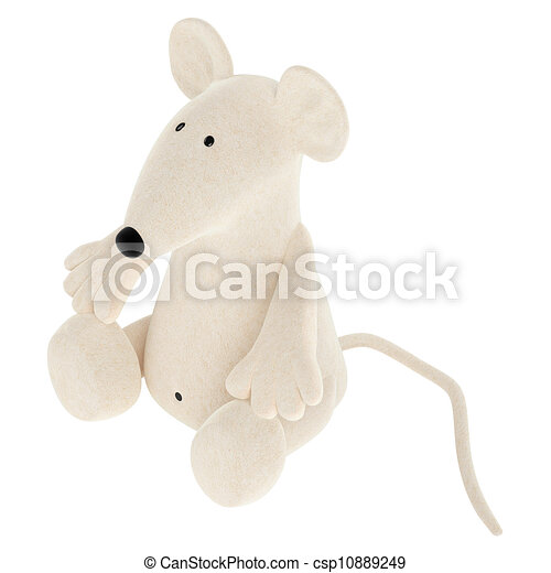 Cute toy mouse - csp10889249