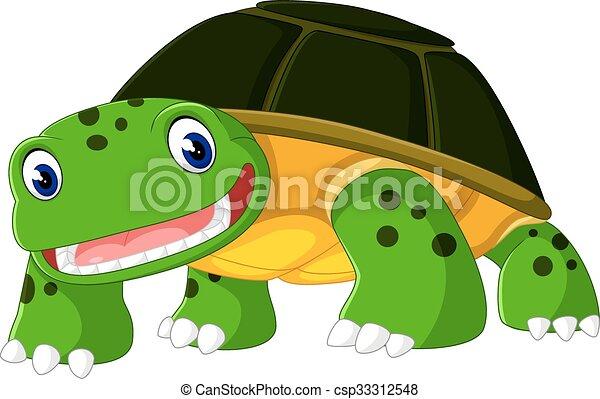 Cute turtle - csp33312548