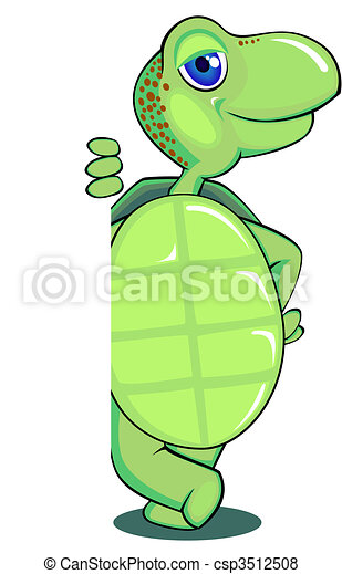 Cute turtle - csp3512508