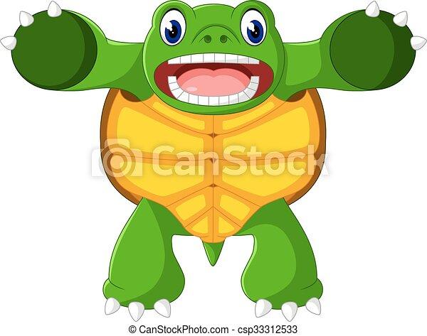 Cute turtle - csp33312533