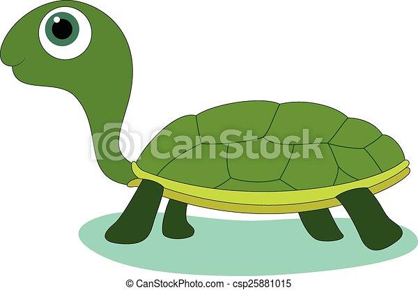 Cute Turtle Illustration Of Cute Cartoon Baby Turtle