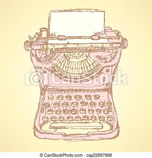 Cute vectortype machine - csp22897968