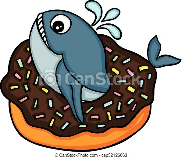 scalable vectorial image representing a cute whale in clip art rh canstockphoto com clipart chocolate cake chocolate cake clipart images