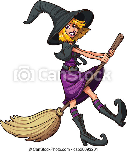 cute witch cute cartoon witch vector clip art illustration rh canstockphoto co uk cute witch clipart cute halloween witch clipart
