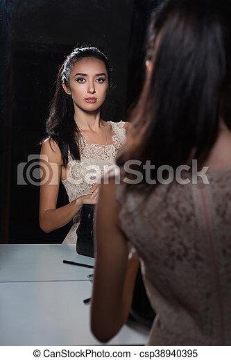 Cute young woman - csp38940395