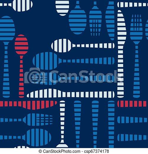 Cutlery on a dark blue background - csp67374178
