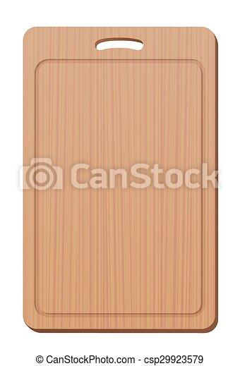 Cutting Board Wood Grip Upright - csp29923579
