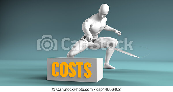 Cutting Costs - csp44806402