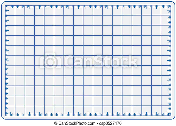 Cutting Mat, Blue  - csp8527476