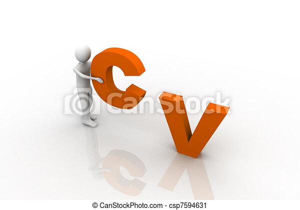 CV Concept - csp7594631