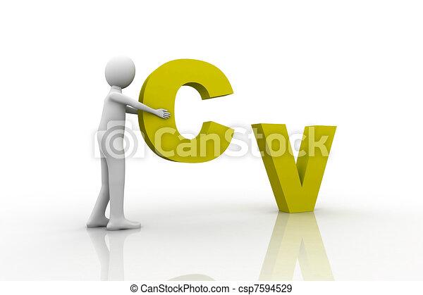 CV Concept - csp7594529